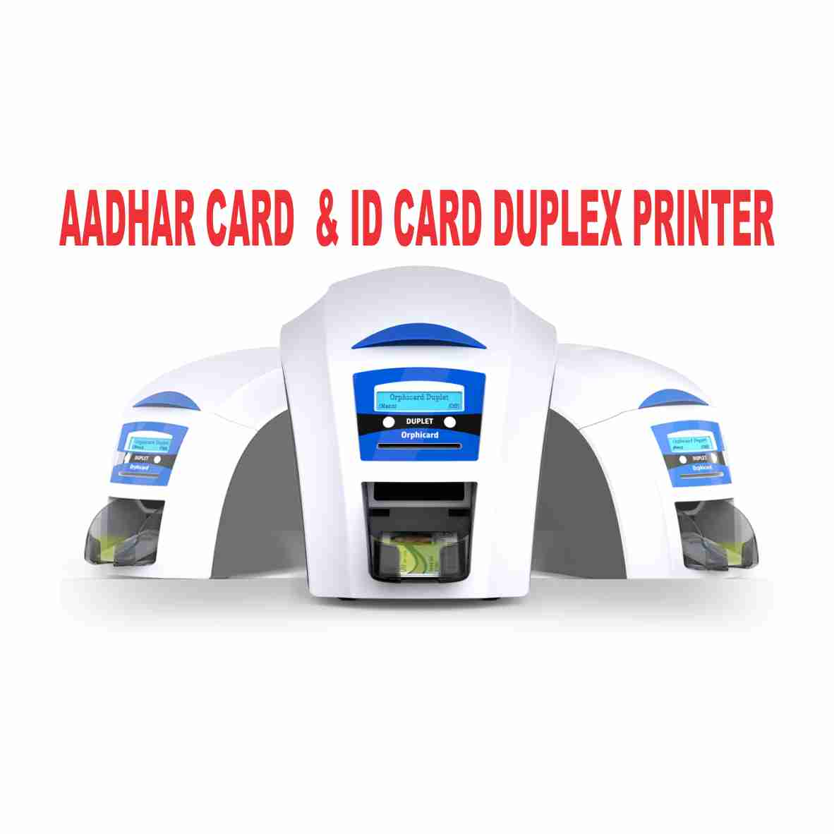 Orphicard Printer - Double-Sided CARD PRINTER