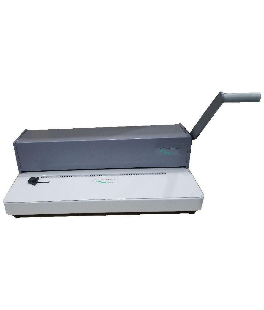 GMP A3 SPIRAL COIL BINDER MACHINE 18 inch