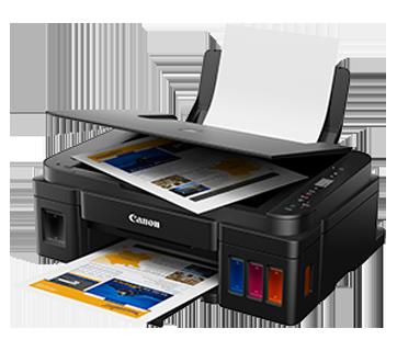 Canon Pixma G 2000 Multi-function Printer  (Black, Refillable Ink Tank)